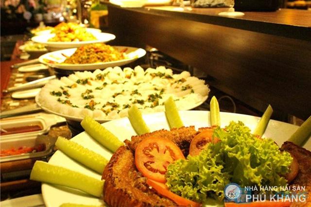 Buffet trưa  tại NH hải sản Phú Khang - Chỉ 99.000đ/ 01 người - 1