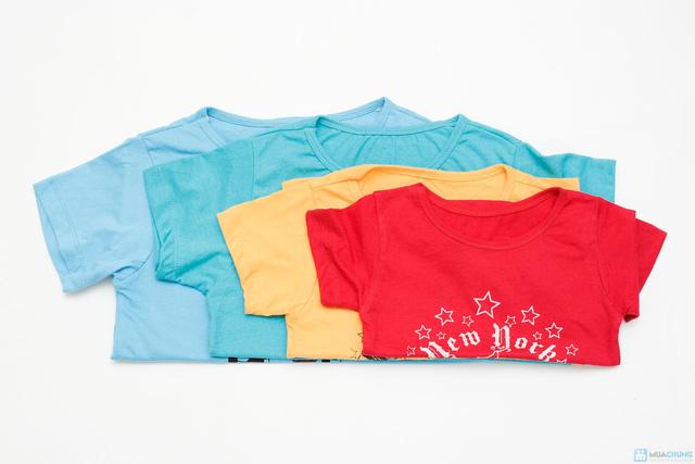 Combo 3 áo phông cotton cho bé trai - 8