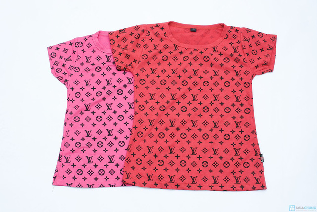 combo 2 áo phông cổ tron cho bé gái - 5
