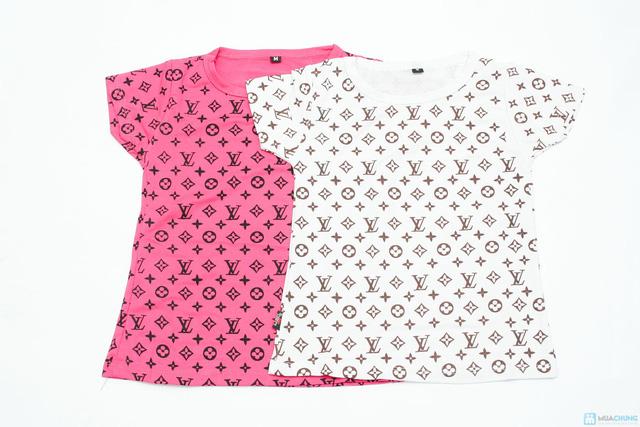 combo 2 áo phông cổ tron cho bé gái - 6
