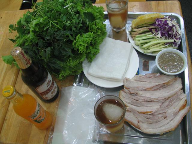 Bánh Tráng Cuốn Thịt Heo Nhà Hàng Hoàng Bèo dành cho 2 người - 4