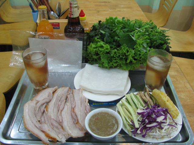 Bánh Tráng Cuốn Thịt Heo Nhà Hàng Hoàng Bèo dành cho 2 người - 5