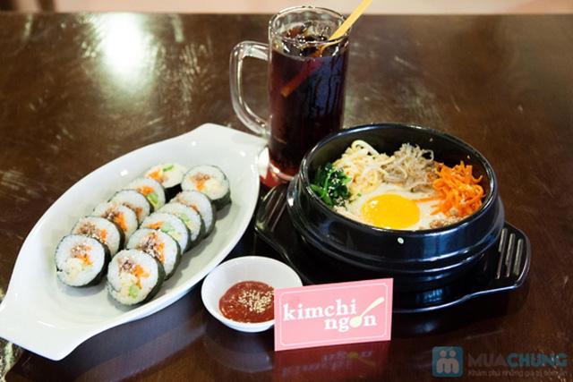 Lựa chọn 01 trong 02 set menu dành cho 01 người tại  Quán Kim Chi Ngon - Chỉ 66.000đ - 2