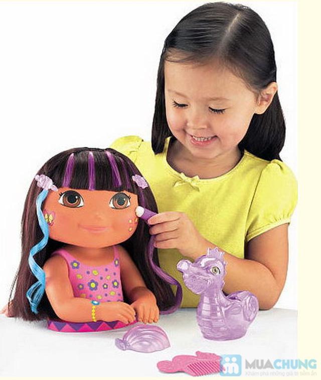 Bộ đồ chơi cho bé gái (vỉ đồ chơi đồ dùng bác sĩ + bóng biến hình + điện thoại 3 nút bấm + búp bê nhỏ) - 2