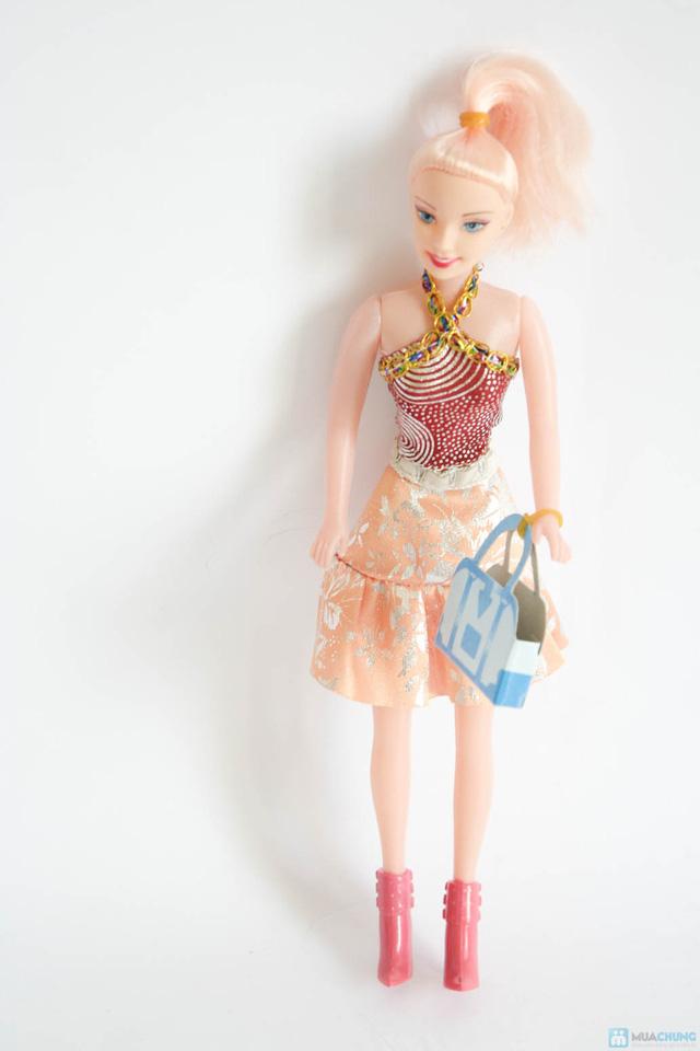 Bộ đồ chơi cho bé gái (vỉ đồ chơi đồ dùng bác sĩ + bóng biến hình + điện thoại 3 nút bấm + búp bê nhỏ) - 4
