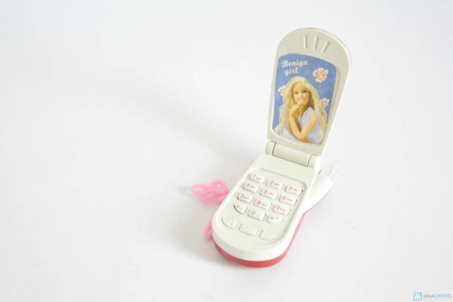 Bộ đồ chơi cho bé gái (vỉ đồ chơi đồ dùng bác sĩ + bóng biến hình + điện thoại 3 nút bấm + búp bê nhỏ) - 5
