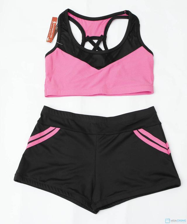 Bộ quần áo tập Aerobic - 1
