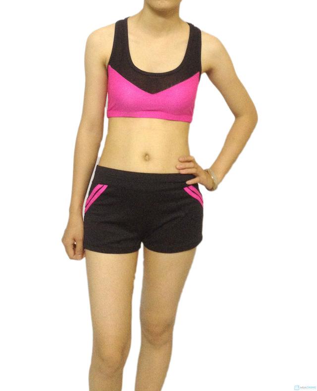 Bộ quần áo tập Aerobic - 3