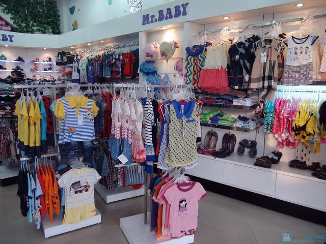 voucher mua giầy dép cho bé tại hệ thống siêu thị mẹ và bé Mr Baby - 1