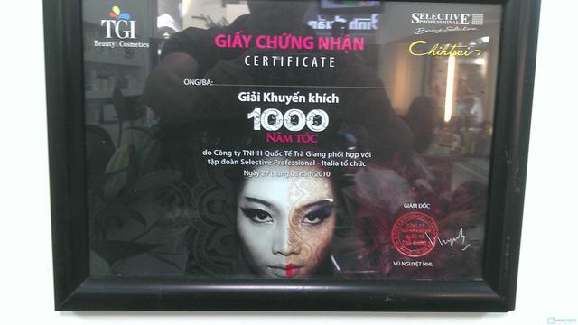 Hấp dưỡng tóc phục hồi GOLD QUALITY tại Salon tóc Hường Hà - 2