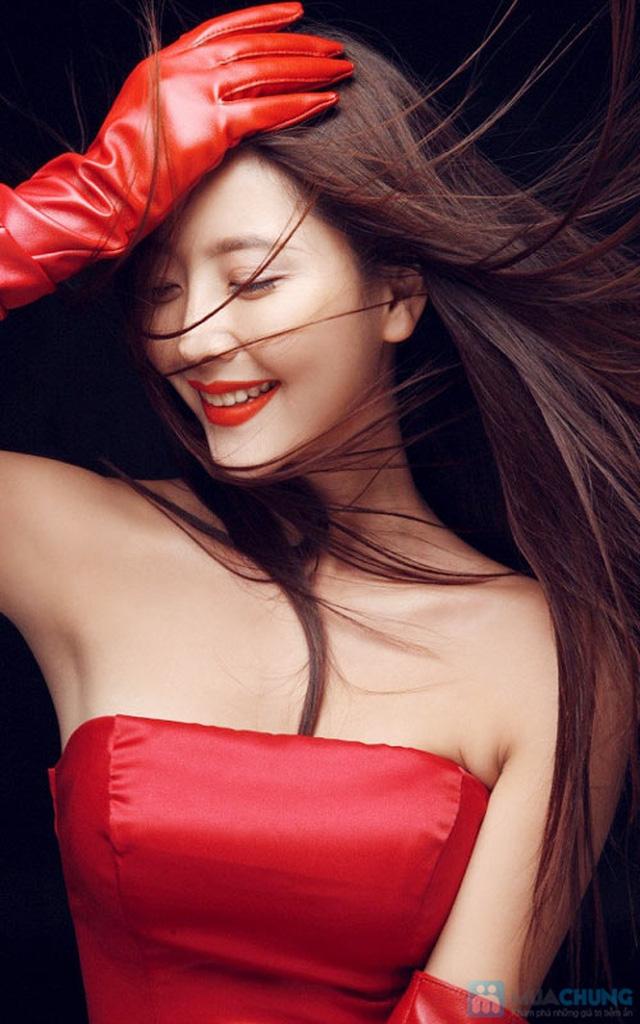 Hấp dưỡng tóc phục hồi GOLD QUALITY tại Salon tóc Hường Hà - 6