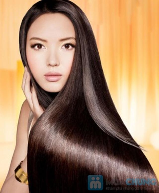 Hấp dưỡng tóc phục hồi GOLD QUALITY tại Salon tóc Hường Hà - 8