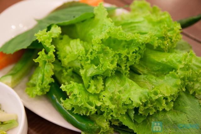 Set ăn: thịt ba chỉ nướng + kim bắp + 6 món phụ cho 2 người tại nhà hàng Sườn Nướng Hàn Quốc - Chỉ 138.000đ - 4