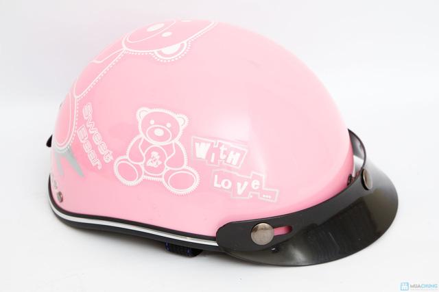 mũ bảo hiểm chính hãng thời trang cho bé HKT - 2