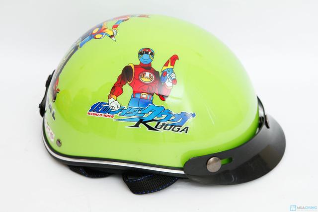 mũ bảo hiểm chính hãng thời trang cho bé HKT - 4