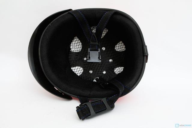 mũ bảo hiểm chính hãng thời trang cho bé HKT - 6