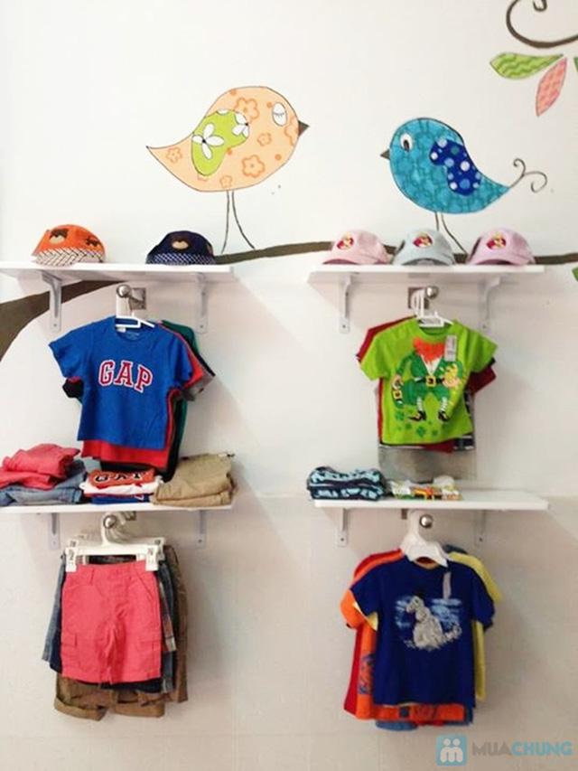 Combo 2 áo thun cotton 100% cho bé trai (1 tháng - 5 tuổi) - 2