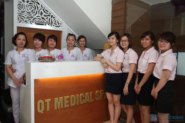 Tẩy da chết + trắng sáng bằng cám gạo và sữa non tại QT Medical Spa - 7
