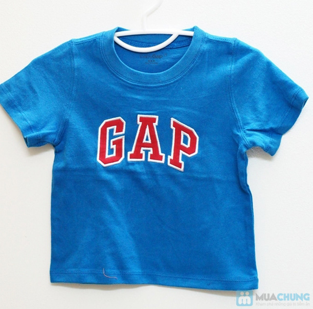 Bộ 2 áo thun cotton in chữ GAP cho bé trai (1 - 5 tuổi) - 5