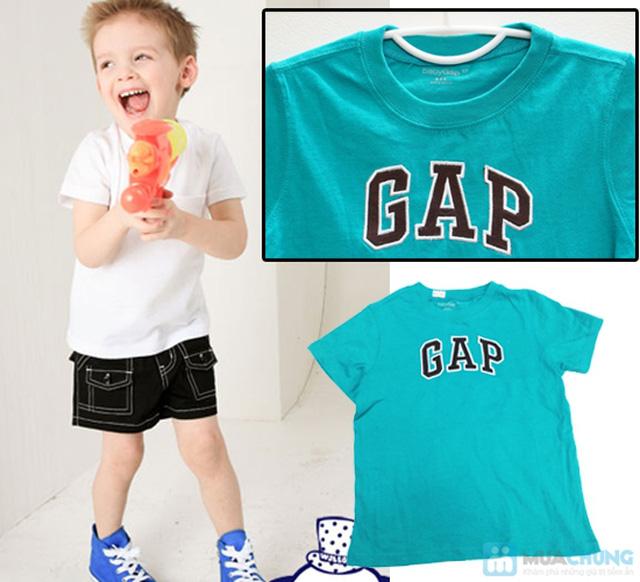 Bộ 2 áo thun cotton in chữ GAP cho bé trai (1 - 5 tuổi) - 2