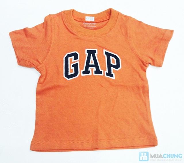Bộ 2 áo thun cotton in chữ GAP cho bé trai (1 - 5 tuổi) - 1