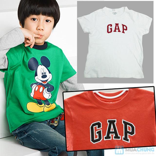 Bộ 2 áo thun cotton in chữ GAP cho bé trai (1 - 5 tuổi) - 3