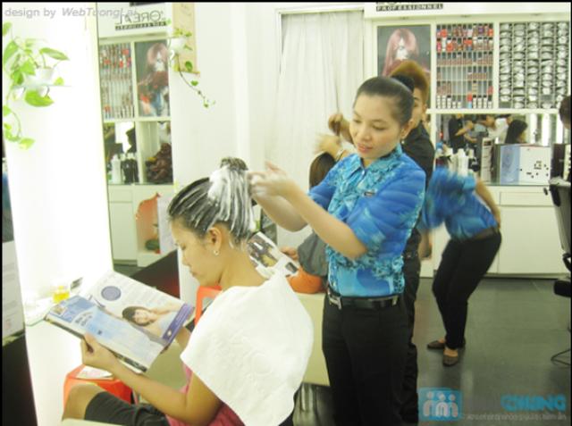 Chọn 1 trong 3 dịch vụ làm tóc: Duỗi hơi nước/Nhuộm phủ bóng nano/Uốn tại Ngọc Nữ Hair Salon - Chỉ 180.000đ - 7