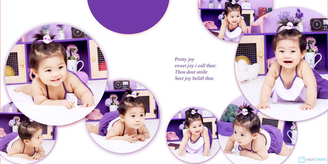 Gói chụp ảnh cho bé yêu tại Herbi Studio - 6