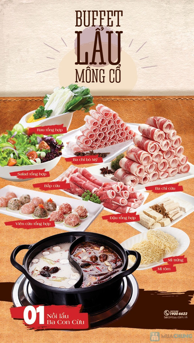 Buffet lẩu Cừu Mông Cổ - 2