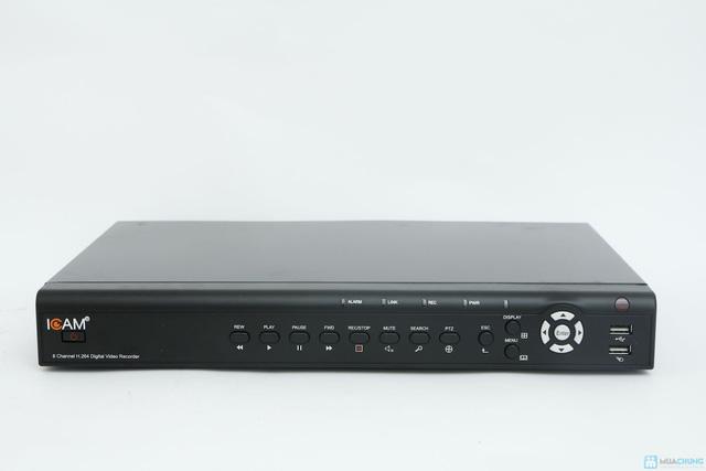 Bộ Camera giám sát Icam và Đầu ghi hình KTS - 5