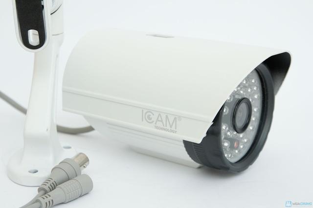 Bộ Camera giám sát Icam và Đầu ghi hình KTS - 10