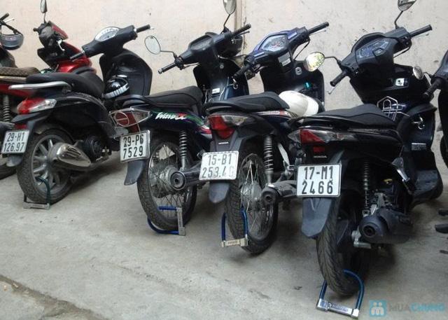 Khóa xe máy chữ U Amimao - 9