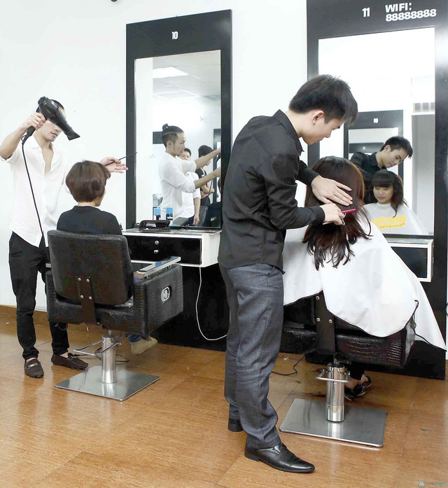 Trọn gói làm tóc tại Viện tạo mẫu tóc Louis - 3