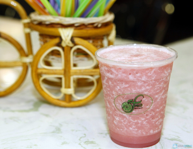 Cảm nhận hương vị nước trái cây tại Fresh Juice and Yogurt - 4