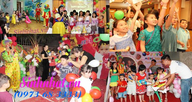 Tổ chức sinh nhật cho bé - 12