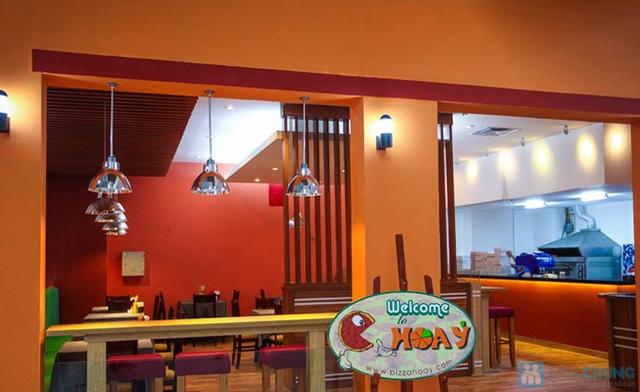 Voucher giảm giá tất cả đồ ăn tại nhà hàng Pizza Hoa Ý - 8