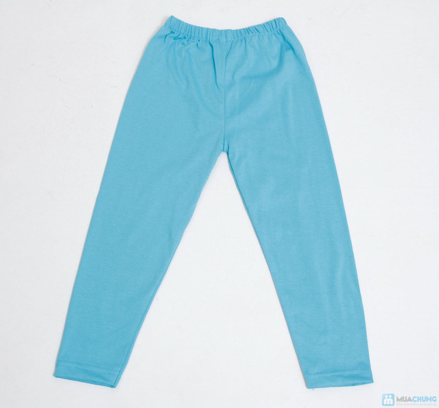 combo 3 quần legging cotton mịn cho bé gái (size 2,3) - 1