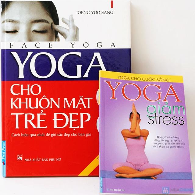 Yoga giảm stress + Yoga cho khuôn mặt đẹp. Chỉ với 90.000đ - 1