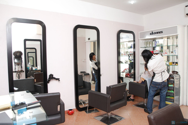 Dịch vụ Nối tóc bằng sợi Fiberglass tại H_Long Hair salon - 3