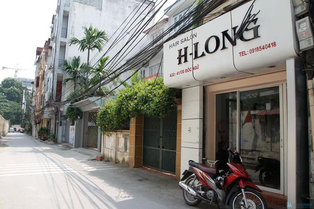 Dịch vụ Nối tóc bằng sợi Fiberglass tại H_Long Hair salon - 1