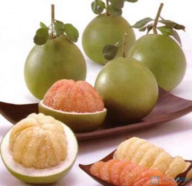 Combo 2 quả bưởi da xanh Biên Hòa ( loại 1,2kg-1,5kg) - 1