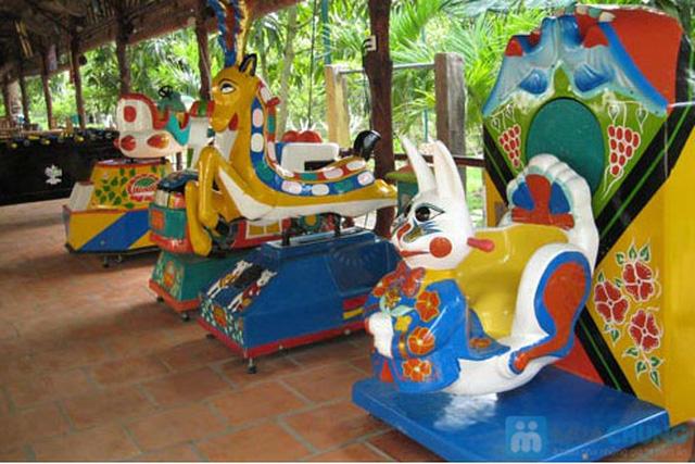 Tour ngoại thành Quận 9: Khu du lịch Vườn Thiên Thanh - Câu cá giải trí - Thưởng thức hải sản trong 01 ngày. Chỉ 349.000đ/người - 4