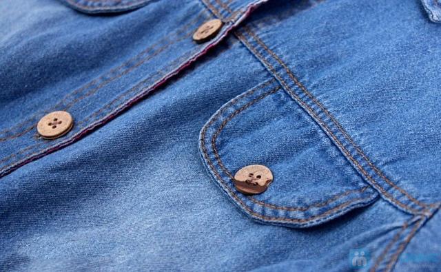Đầm jean cho bé từ 10 - 15 tuổi - 3