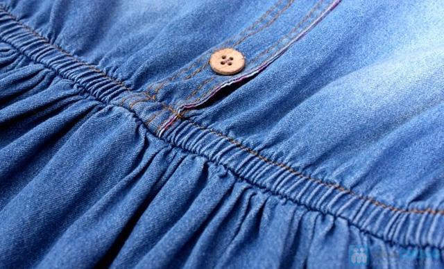 Đầm jean cho bé từ 10 - 15 tuổi - 2