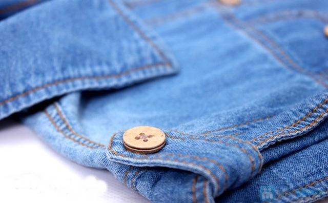 Đầm jean cho bé từ 10 - 15 tuổi - 4
