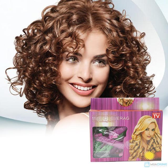 Bộ uốn tóc xoăn không dùng nhiệt Magic Leverag - 9