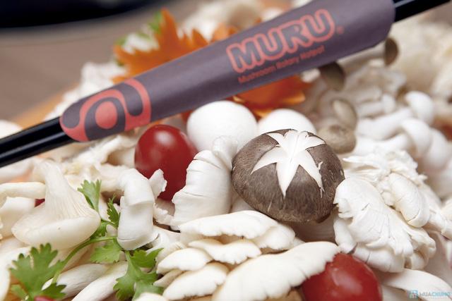 Lẩu nấm băng chuyền Muru deal đặc biệt kỷ niệm 3 năm - 24