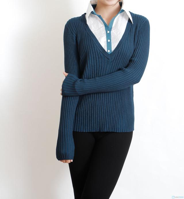 Áo len cao cấp dành cho tuổi trung niên - 17