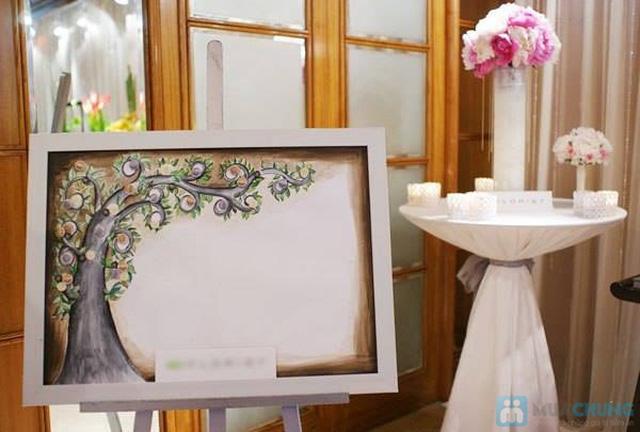 Tranh in dấu vân tay - cho Lễ cưới thực sự ý nghĩa - 2
