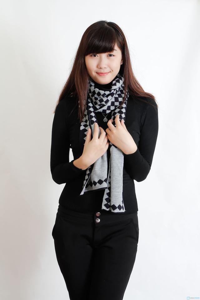 Khăn len thời trang cho cả Nam và Nữ - 2